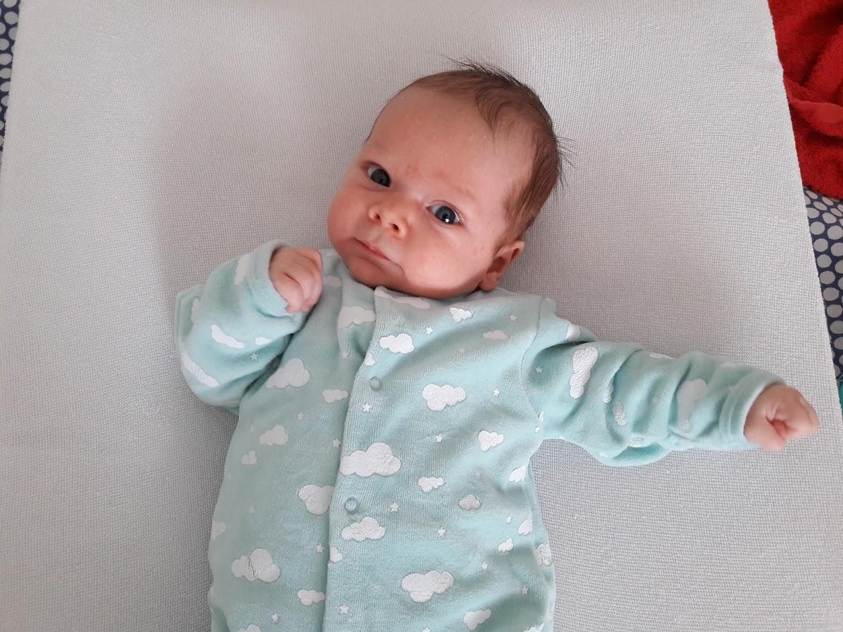 Yannick, papa de Benjamin né en 2018